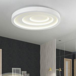 Modern Simple Style Living Room Dining Room Bedroom Elliptical ripple LED Flush Mount