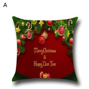 Santa Claus Christmas Snowman Christmas Theme Pillowcase 4 Options