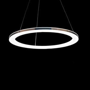 (EU Stock) Modern Simple Acrylic LED Circle Pendant Light 1 Tier Ceiling Lights Energy Saving Cool White