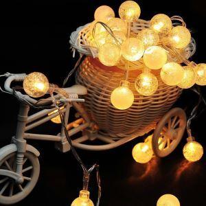 Bubble Lights Room Decoration Lights Christmas Crystal Light LED String Lights 40 Lights