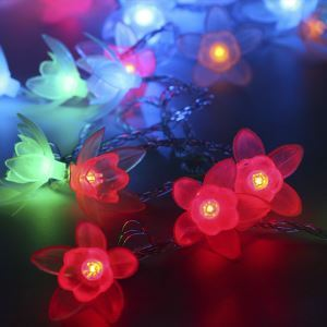 Lily String Light Pendant Battery LED String Light