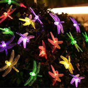 Dragonfly Modeling Outdoor Waterproof Solar LED String Lights