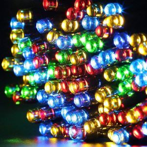 Small Light Bead Outdoor Waterproof Solar LED String Lights