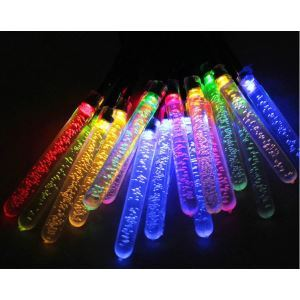 Ice Tank Outdoor Waterproof Solar LED String Lights