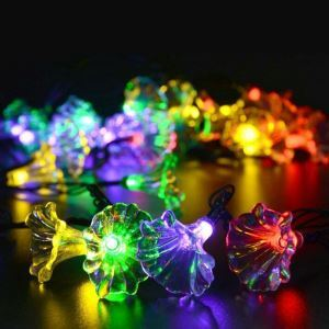 Trumpet Outdoor Waterproof Solar LED String Lights
