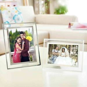 Modern Simple Photo Frame Creative Home Decor Glass Photo Frame