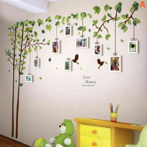Pastoral Home Decor Solid Wood Photo Wall Photo Frame 9 pcs/set