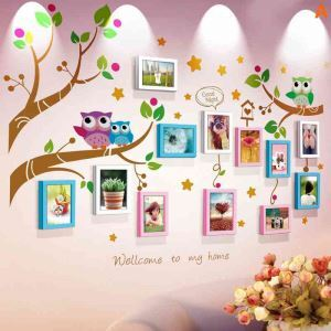 Modern Simple Photo Frame Home Decor Solid Wood Photo Wall Photo Frame 12 pcs/set