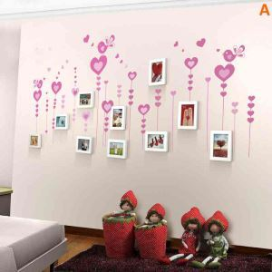 Modern Simple Photo Frame Home Decor Solid Wood Photo Wall Photo Frame 10 pcs/set