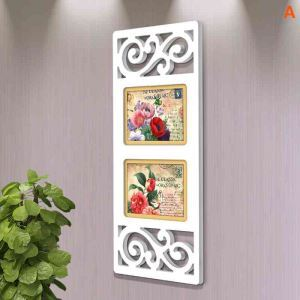 Modern Simple White Photo Frame Design Home Decor Solid Wood Photo Frame
