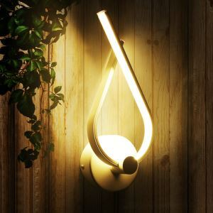 Nordic Modern LED Wall Light Creative Geometric Shape Dinging Room Hallways Bar Lighting Natural White