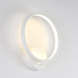 Nordic Modern LED Wall Light Ring Shape Dinging Room Hallways Bar Lighting Natural White
