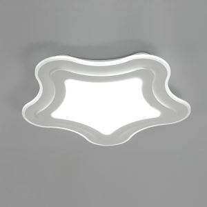 Modern Simple LED Flush Mount Starfish Dining Room Bedroom Lighting