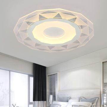 Image result for Modern Simple LED Flush Mount Geometric Shape Dining Room Bedroom Lighting