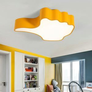 Nordic Simple Style Flush Mount Thumb-up model Children Bedroom Hallway Light  Cool White