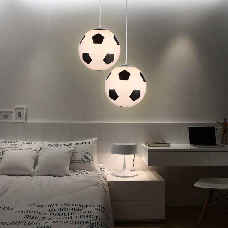 Modern Simple Football Pendant Light Dining Room Kids Room