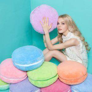 French Macaron Creative Plush Pillow Cushion