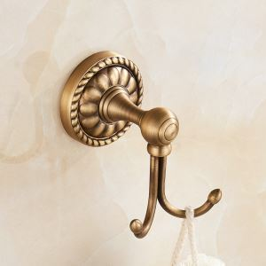 European Antique Copper Robe Hook