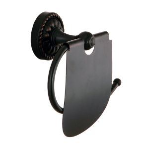 European Black Antique Copper Toilet Roll Holder