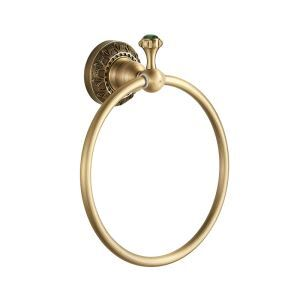 European Antique Copper Towel Ring