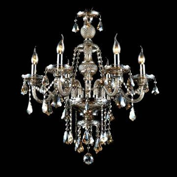 Image result for (In Stock)Chandelier Cognac Color Crystal Modern 6 Lights Contemporary Living Room Bedroom Dining Room Lighting Ideas Office Glass Ceiling Lights