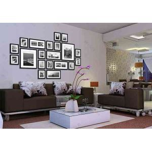 (UK Stock) Photo Wall Frame set Collection-White Set of 20 FZ-2020(Pictures Not Included)
