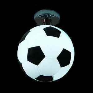 (Pre-order)Modern Semi Flush Mount Ceiling Light with Football Feature(Soccer Passion)