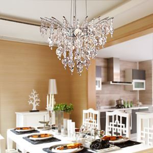 8-Light Crystal Pendant Lights
