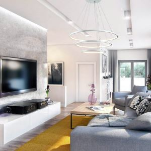 LED Pendant Light Metal Acrylic Light LED Patch Ceiling Light 90W Warm White Energy Saving