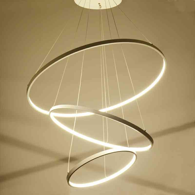 Uk Stock Led Pendant Light Metal Acrylic Patch Ceiling 90w Cool White Energy Saving