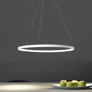 (UK Stock)LED Pendant Light Metal Acrylic Light LED Patch Ceiling Light 40W Cool White Energy Saving