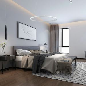 (UK Stock)LED Pendant Light Metal Acrylic Light LED Patch Ceiling Light 30W Cool White Energy Saving