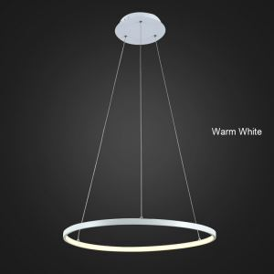 (UK Stock) LED Pendant Light Metal Acrylic Light LED Patch Ceiling Light 30W Warm White Energy Saving