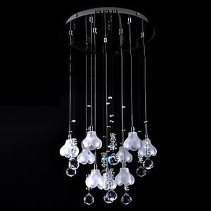 K9 Crystal Mini Chandelier with 9 Lights