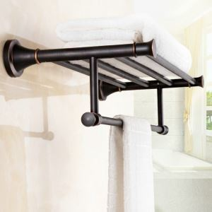 Towel Rack for Bathroom Oil Rubbed Bronze Craft Black Retro Bathroom Towel Bar
