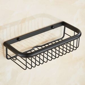 Bath Shelf for Bathroom Oil Rubbed Bronze Craft Black Retro Towel Rack