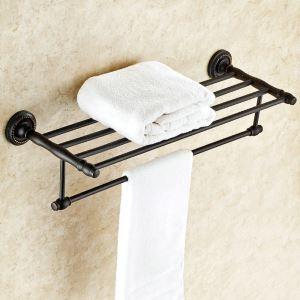 Towel Rack for Bathroom Oil Rubbed Bronze Craft Black Retro Towel Bar