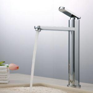 Chrome Bathroom Sink Faucet Copper Mixer Basin Tap