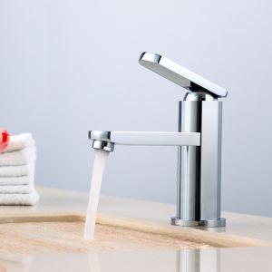 Copper Mixer Basin Tap Chrome Bathroom Sink Faucet