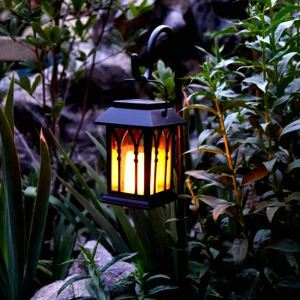 Solar Candle Lantern Outdoor Decorative Solar Powered Candle Light LEH-55153G