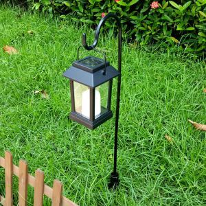 Solar Candle Lantern Outdoor Decorative Solar Powered Candle Light LEH-55143G