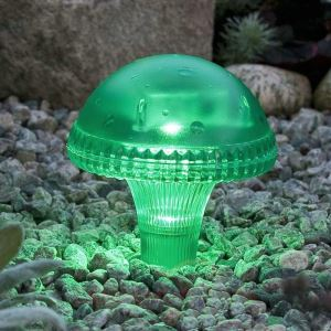 Colorful Garden Light Solar Powered Waterproof LED Outdoor Lamp LEH-41587