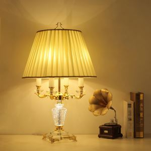Add Opulent Touch to Any Space with Gorgeous Candelabra Style Table Lamp