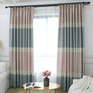Hemp Max Blackout Curtain Panel American Country Room Darkening Window Treatment Kids Bedroom