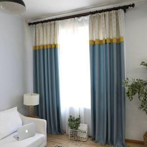 Max Blackout Curtain Fashion Jacquard Window Treatment Living Room Bedroom