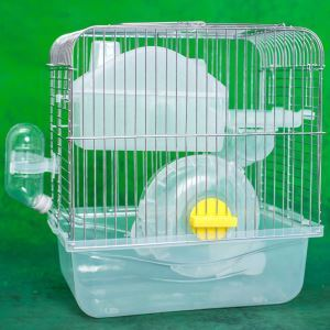 Transparent Hamster Cage Small Hamster Bed Indoor Cage