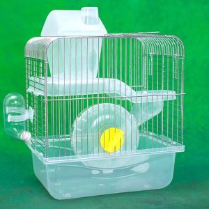 Transparent Hamster Cage Hamster House