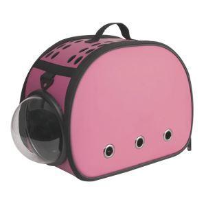 Pet Carrier EVA Bag Portable Foldable Pet Travel Bag Pink