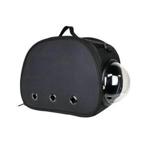 Pet Carrier EVA Bag Portable Foldable Pet Travel Bag Black