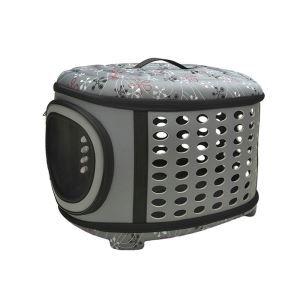 EVA Pet Carrier Travel Puppy Cat Bag for Pets Grey L